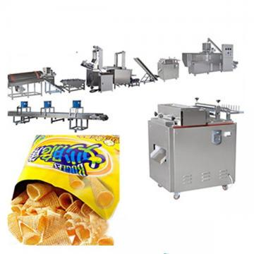 Wheat Flour Chips Snack Machine Excellent Quality Fried Bugle Chips Processing Line with Ce
