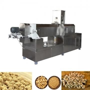 Best Advanced TVP textured vegetarian soy protein machine processing line and Fibre soya protein extruder