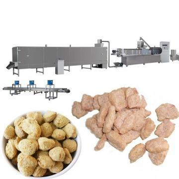 Twin screw extruder textured soya protein making machine / soy meat processing line / soya nuggets