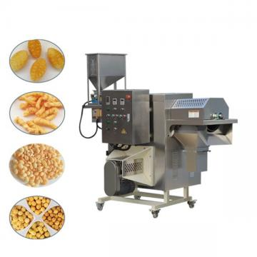 Crispy corn chips making equipments fried potatoes food machine extruder for crispy fries