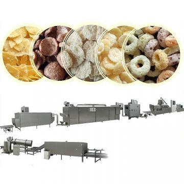 Automatic Breakfast Cereal Ring Corn Flakes Extruder Making Machine Production Line