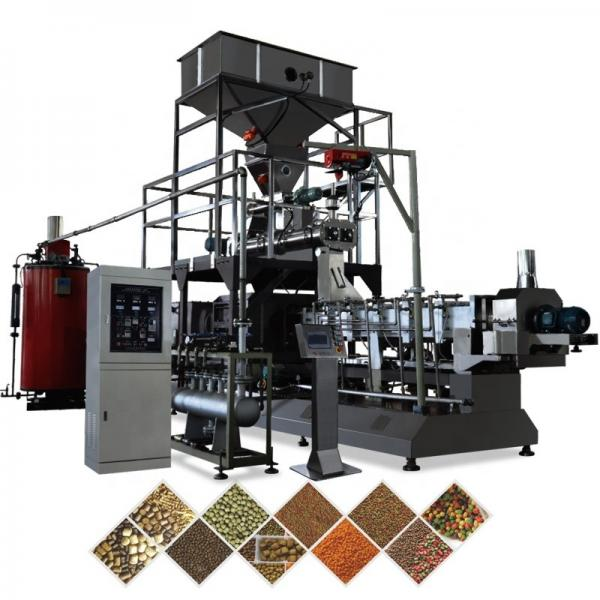 Automatic Dry Floating Sinking Animal Pet Fish  Feed Food Pellet Processing Making Machine #3 image