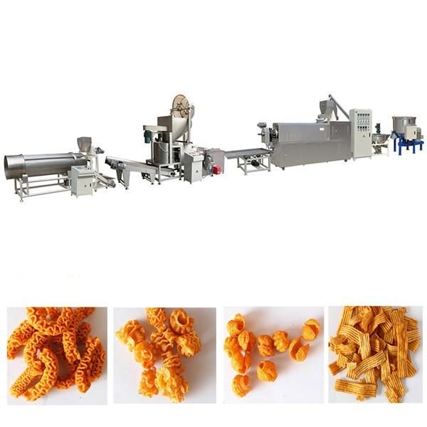 Automatic Pizza rolls/crispy shell processing line/ Fried Snack Food wheat Flour Bugles Chips Making Machine #2 image