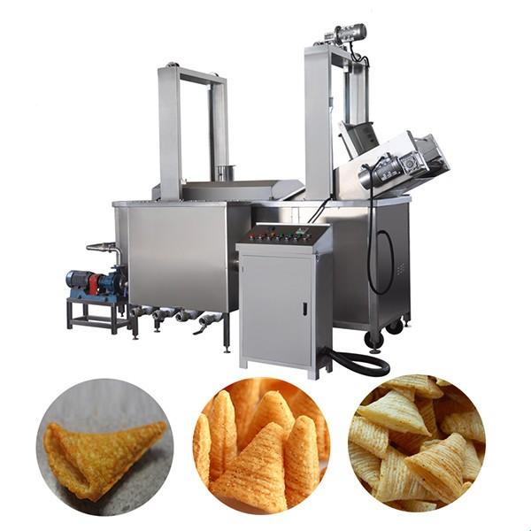 Automatic Pizza rolls/crispy shell processing line/ Fried Snack Food wheat Flour Bugles Chips Making Machine #3 image