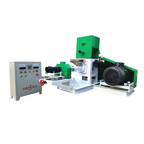 Automatic Dry Floating Sinking Animal Pet Fish  Feed Food Pellet Processing Making Machine #2 image
