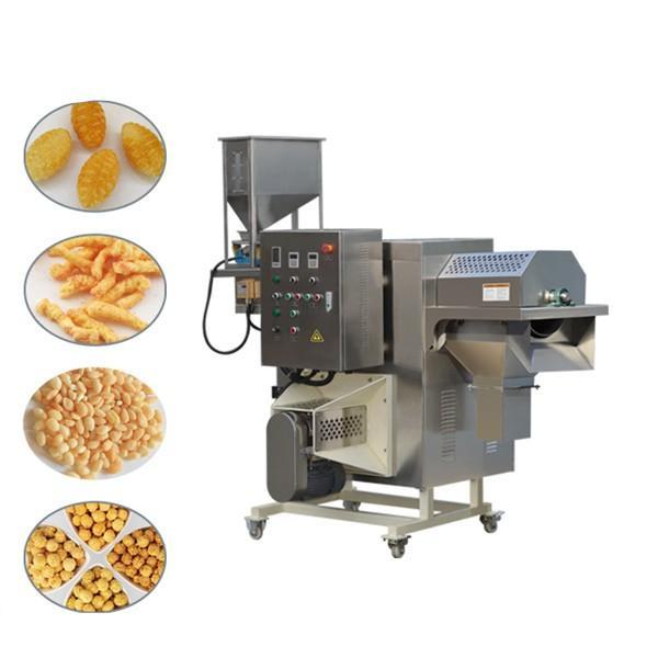 Crispy corn chips making equipments fried potatoes food machine extruder for crispy fries #1 image