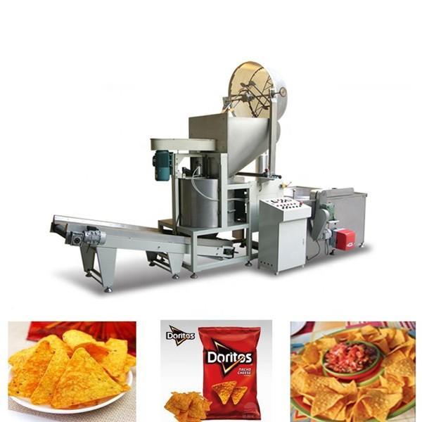 Crispy corn chips making equipments fried potatoes food machine extruder for crispy fries #3 image