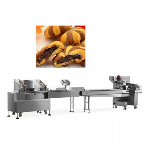 Cartoon biscuit making machine/double color cookies making machine for sale #2 image